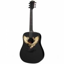 LAG Westerngitarre Wings of...