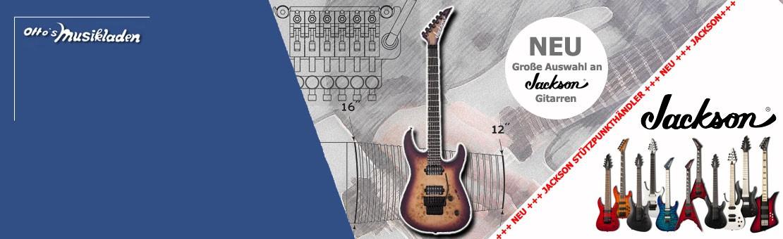 NEU JACKSON Gitarren